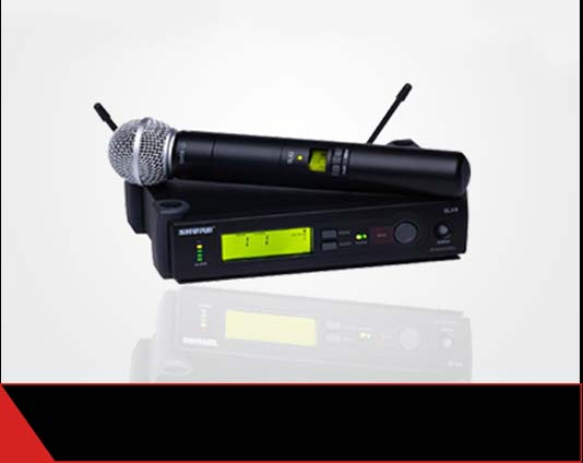 wireless microphone shure